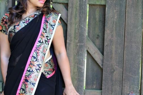Every Woman Needs A Little Black Sari Love Snd