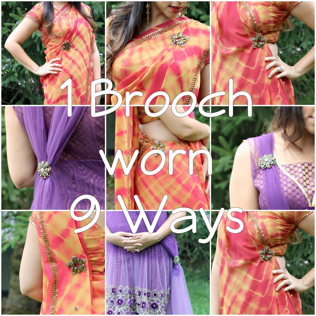 To acquire How to saree wear brooch picture trends