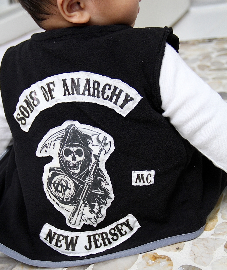 de8d19100 Baby Sons Of Anarchy Costume & Sons Of Anarchy Girls Fashion Top ...